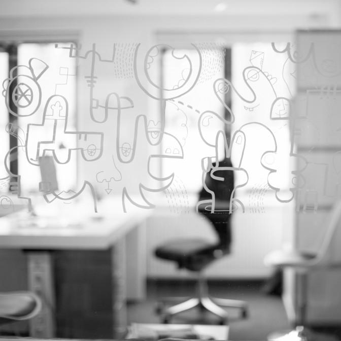 Concreet geeft vorm Grafisch Ontwerpbureau Over ons Interieur Raam