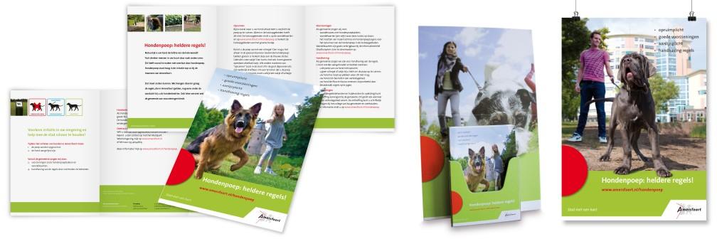 Publiekscampagne Gemeente Amersfoort Folders