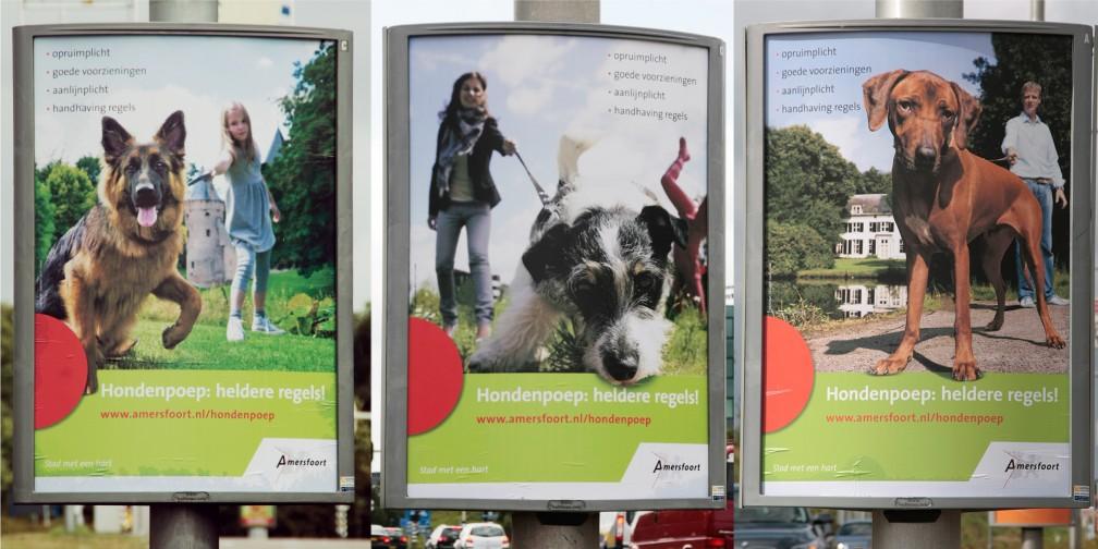 Publiekscampagne Gemeente Amersfoort Displays