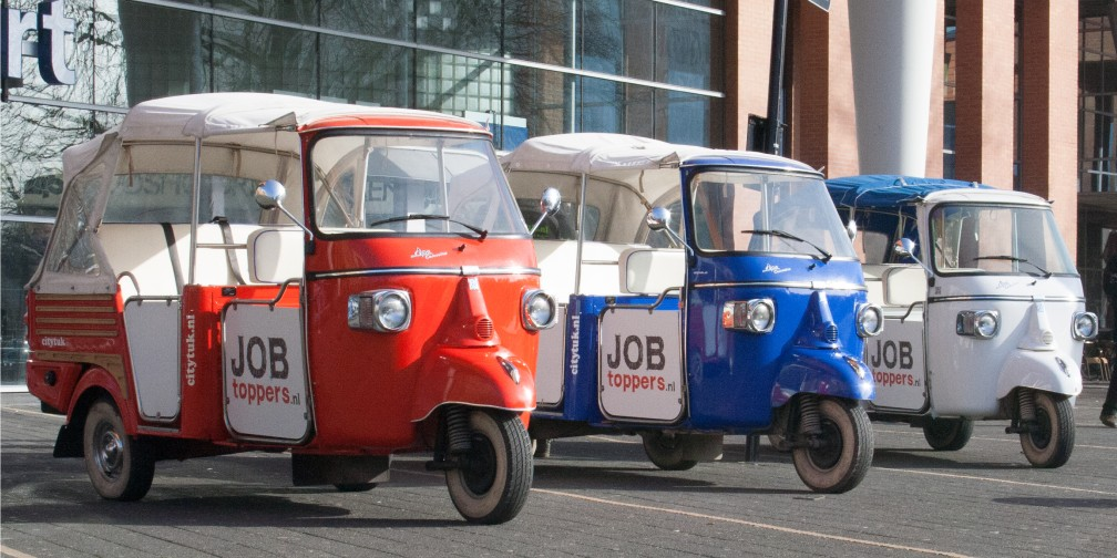Communicatiecampagne JobToppers TukTuk