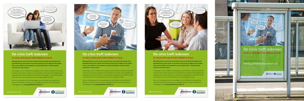 Campagne Geldloket Gemeente Amersfoort Advertentie