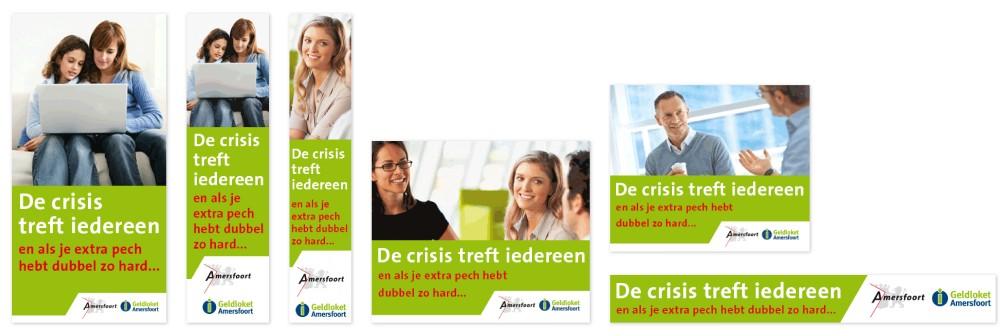 Campagne Geldloket Gemeente Amersfoort Banners