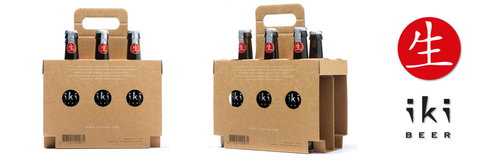 sixpack bierverpakking lijmloos