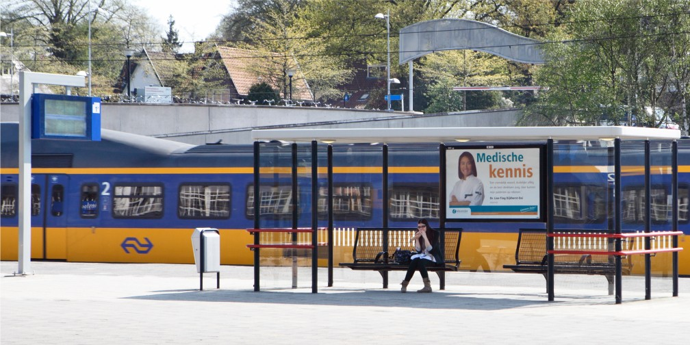 Publiekscampagne Medische Kennis Meander Ziekenhuis Stationssprea