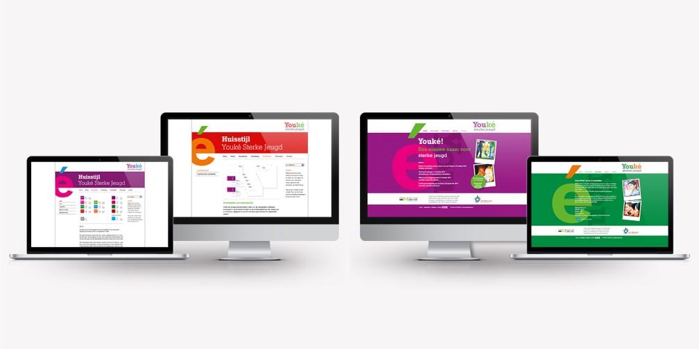 Website en huisstijl Youké