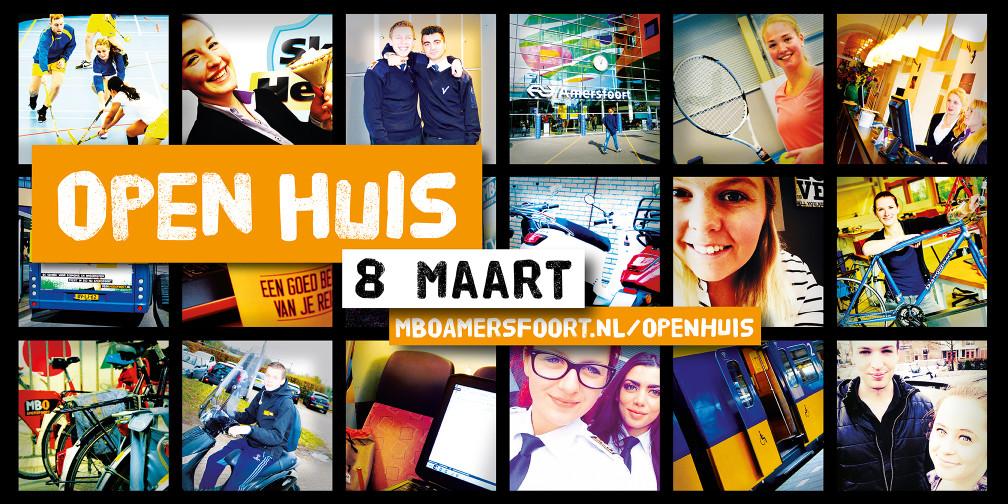 MBO amersfoort Open Huis poster