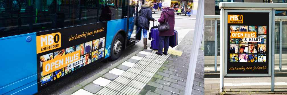 Bus mbo amersfoort zijkant