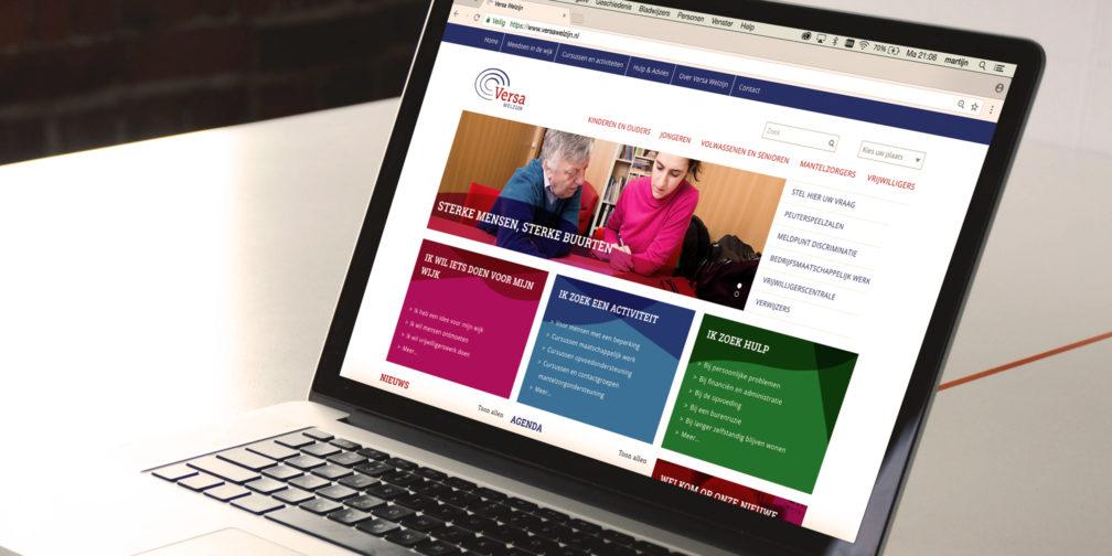 Versa welzijn website responsive concreet-geeft-vorm